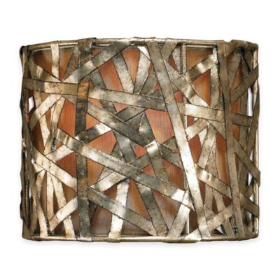 Uttermost Alita 1-Light Sconce in Champagne