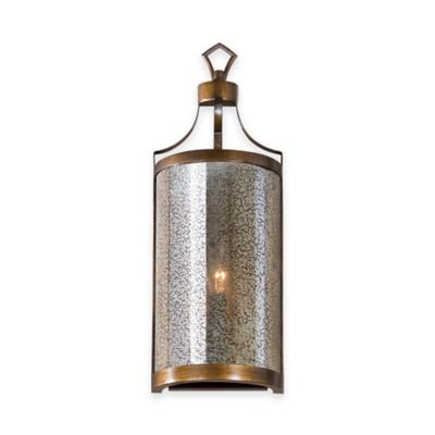 Uttermost Croydon 1-Light Mercury Glass Sconce
