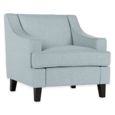 Verona Home Victoria Arm Chair in Aqua