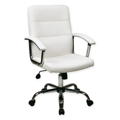 Office Star Products Ave Six Malta Office Chair in White