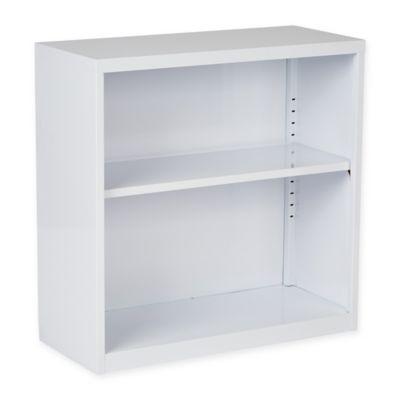 Office Star® Products Metal Bookcase in White