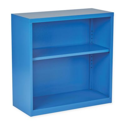 Office Star® Products Metal Bookcase in Blue