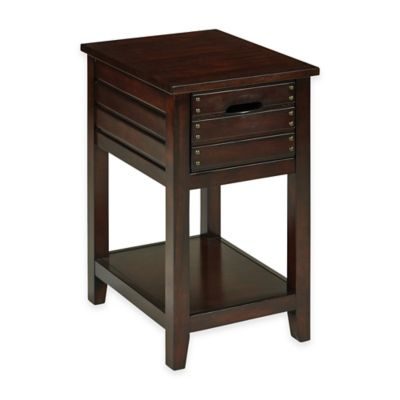 Camille Side Table in Walnut