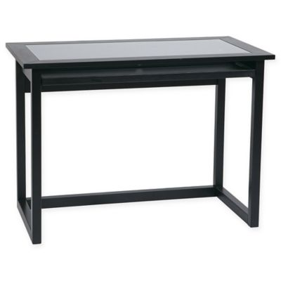 Office Star Products Meridian Computer Desk in Black