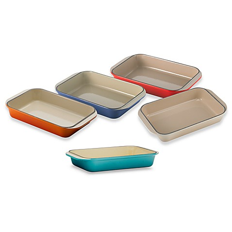 "Le Creuset® 8"" x 11 3/4"" Rectangular Roaster"