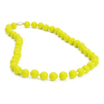Chewbeads Jane Necklace in Lime