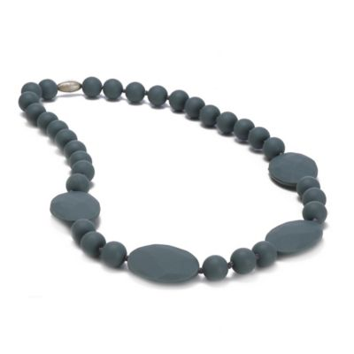 Chewbeads Perry Necklace in Grey