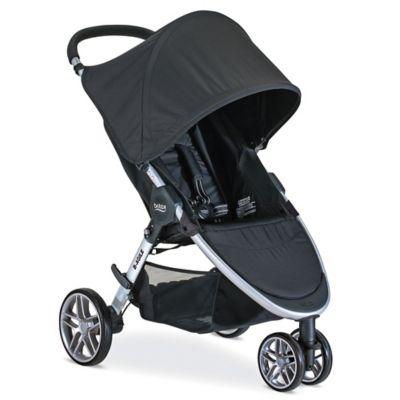 BRITAX 2016 B-Agile 3 Stroller in Black