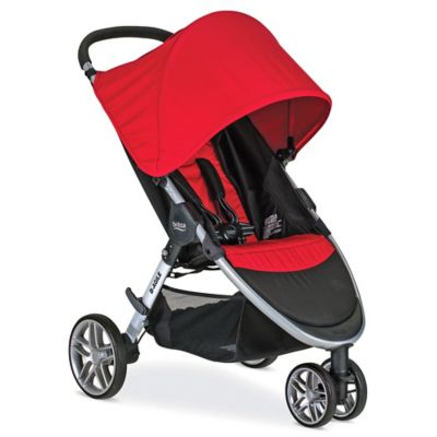 BRITAX 2016 B-Agile 3 Stroller in Red