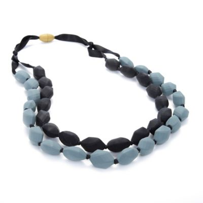 Chewbeads Astor Necklace in Black/Grey