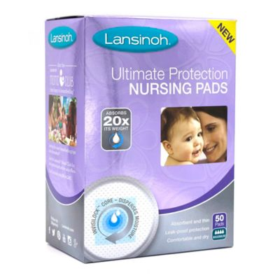 Lansinoh® Ulimate Protection Soft 50-Pack Nursing Pads