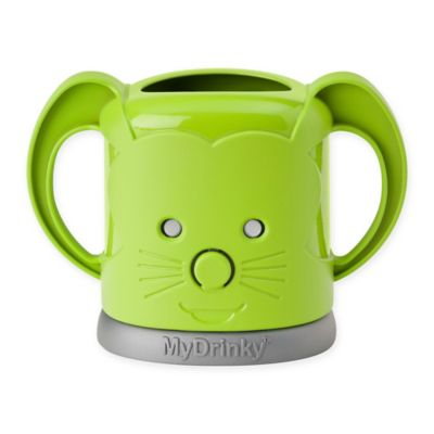 InchBug® MyDrinky™ Adjustable Juice Box Holder in Lime