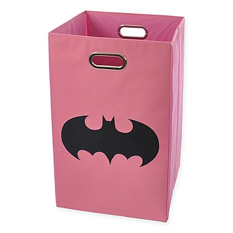 Modern littles batman folding laundry basket - Superhero laundry hamper ...