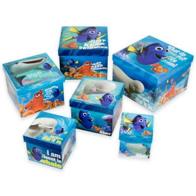 """""""Finding Dory"""" Nesting Boxes (Set of 6)"""