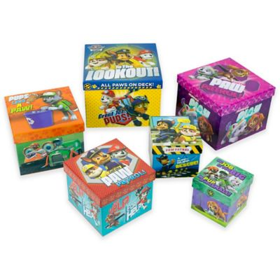 """PAW Patrol"" Nesting Boxes (Set of 6)"