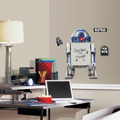 RoomMates Décor Star Wars R2-D2 Peel and Stick Dry Erase Giant Wall Decal