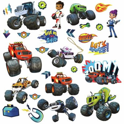 RoomMates Décor Blaze and the Monster Machines Peel and Stick Wall Decals