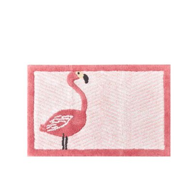 HipStyle Pinky 20-Inch x 30-Inch Cotton Tufted Bath Mat in Pink