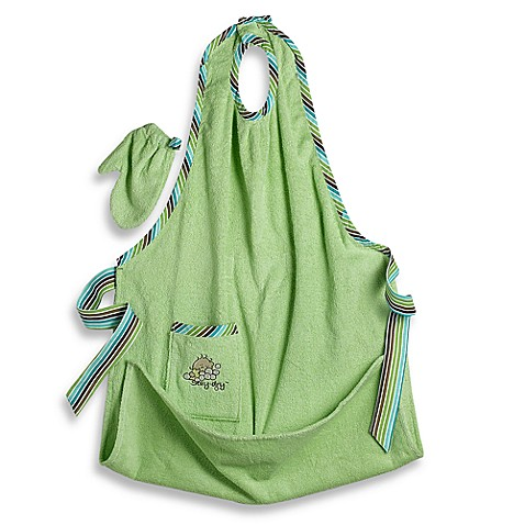 Stay-Dry™ Bath Apron & Towel in Neutral