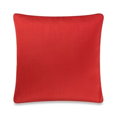 Red Orange Pillow Cover