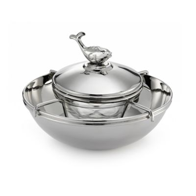 Mary Jurek Design Animal Collection Beluga Caviar Bowl