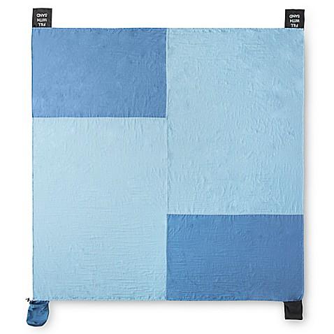 Buy Nylon Beach Blanket In Blue From Bed Bath Amp Beyond