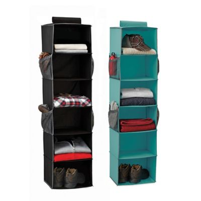 Studio 3B™ 6-Shelf Sweater Organizer in Black