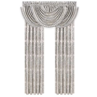 J. Queen New York™ Romance Waterfall Swag Window Valance in Spa