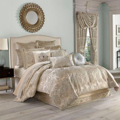 J. Queen New York™ Romance Queen Comforter Set in Spa