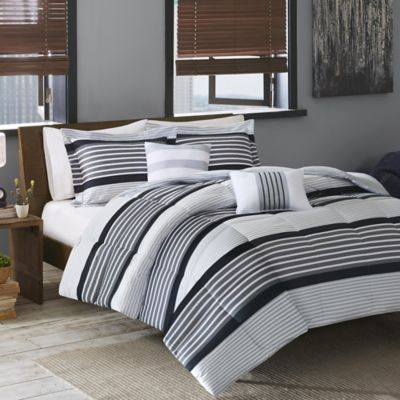 Cozy Soft® Paul Twin/Twin XL Comforter Set in Black/White/Grey