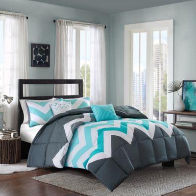 Grey Chevron Bedding Sets