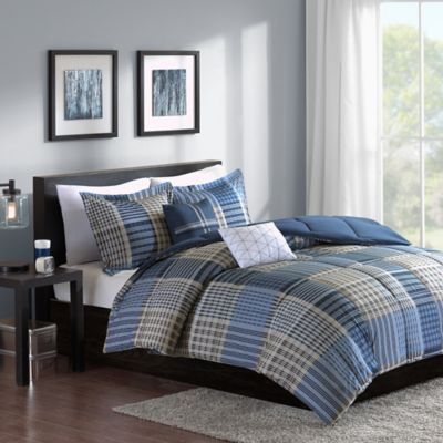 Cozy Soft® Corey 5-Piece Reversible Full/Queen Comforter Set