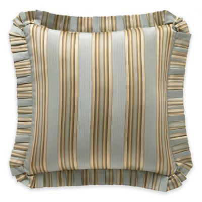 J. Queen New York™ Barcelona European Pillow Sham in Aqua