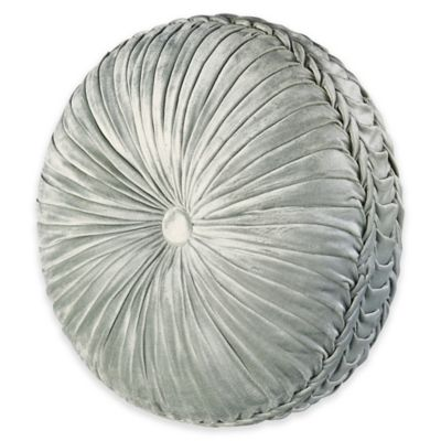 J. Queen New York™ Romance Tufted Round Throw Pillow in Spa