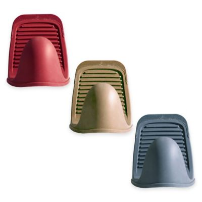 Silicone Mini Lift-Mitt with Nylon Tip in Grey