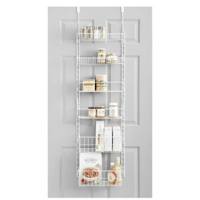 Pantry Door Organizer Rack