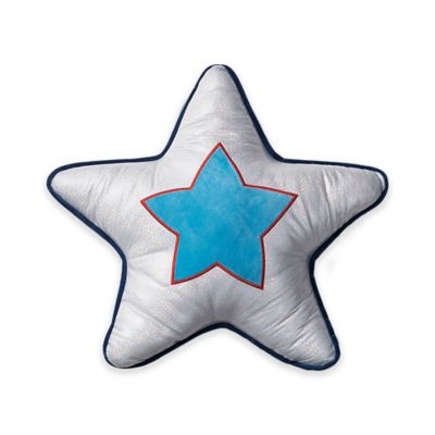 VCNY Big Believers Rock Star Star Throw Pillow