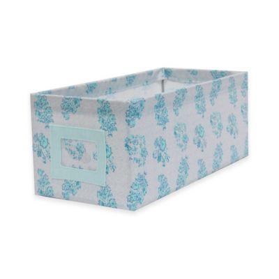 Blue Canvas Storage Bins