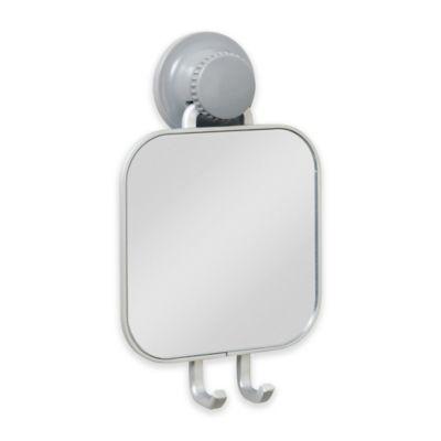 TITAN PowerGrip™ NeverRust™ Suction Shower Mirror
