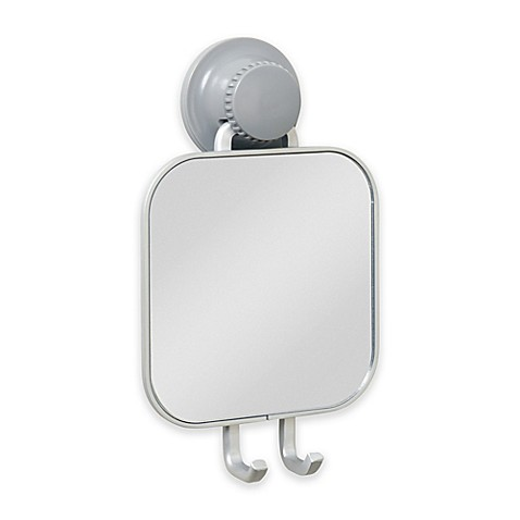 Buy titan powergrip neverrust suction shower mirror from for Where can i buy bathroom mirrors