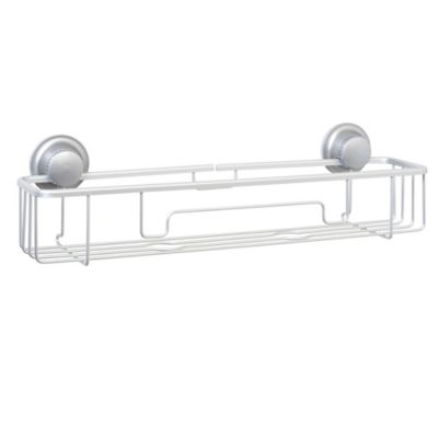 TITAN PowerGrip™ NeverRust™ Suction Long Shower Shelf