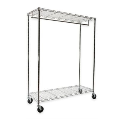 Chrome Storage Garment Rack