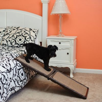 Folding Carpeted 42-Inch Dog Ramp