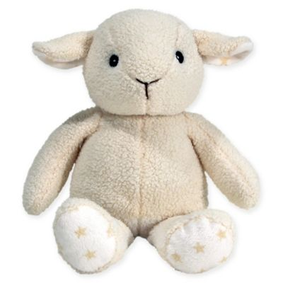 cloud b® Hugginz Sheep Plush in Cream