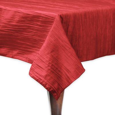 Delano 50-Inch Square Tablecloth in Red