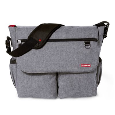 Skip Hop® Dash Signature Diaper Bag in Heather Grey