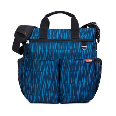 Skip Hop® Duo Signature Diaper Bag in Blue Graffiti
