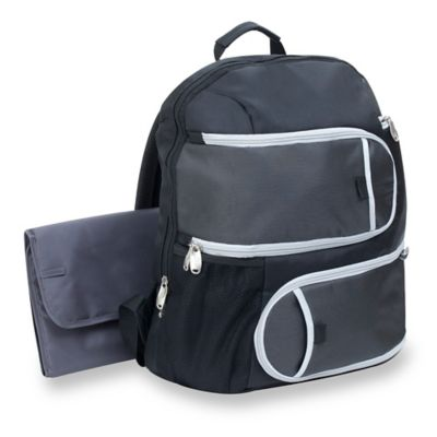 Graco® Gotham Collection Super Organizer Back Pack/Diaper Bag