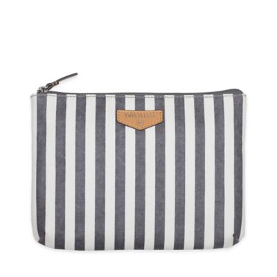 TWELVElittle® Easy Diaper Pouch in Black and White Stripes