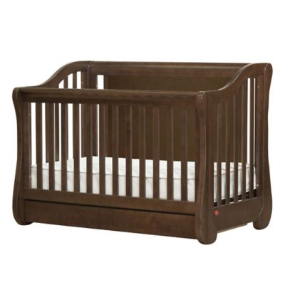 Franklin & Ben Million Dollar Baby Mayfair 4-in-1 Convertible Crib in Rustic Brown